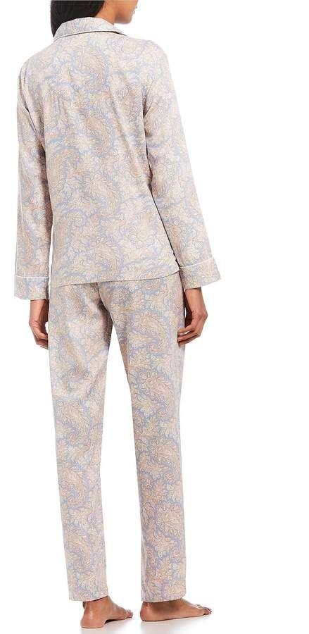 Lauren Ralph Lauren Woven Notch Collar Pajamas  Woven Ralph Lauren ... ecc442b2e