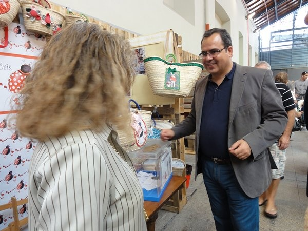 LadyBug´s Cris,con D.JUAN DOMINGUEZ, CABILDO DE GRAN CANARIA Y gran impulsor de esta iniciativa