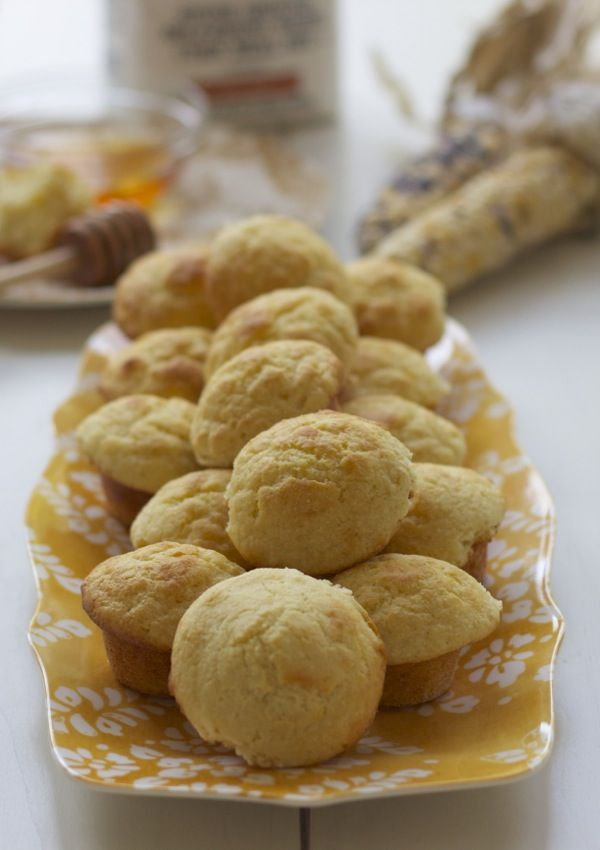 Colonial Williamsburg Indian Corn Muffins {reminiscent of 18th-century Thanksgivings}