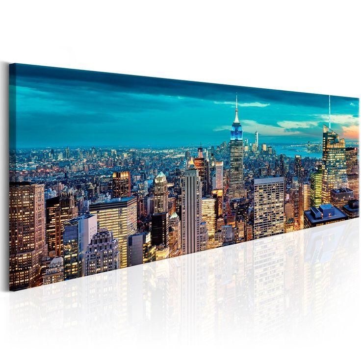 """Tableau """"Blue Metropolis"""" #tableau #newyork #ny #manhattan"""