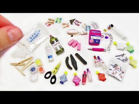 Miniature Manicure Tools Nail - YouTube