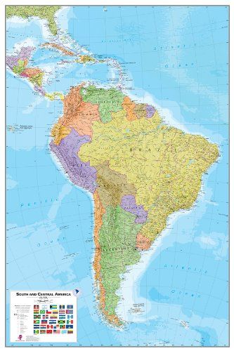 Komar WPE0414 WallPops South America Peel and Stick Map -- You can ...