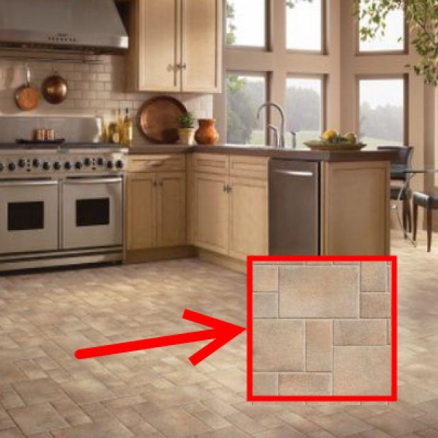 Top Types of Kitchen Flooring   Cost sheet, Kitchen floors ...