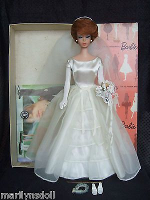 HTF-Japanese-exclusive-pink-silhouette-box-947-2-vintage-Barbie-Brides-Dream