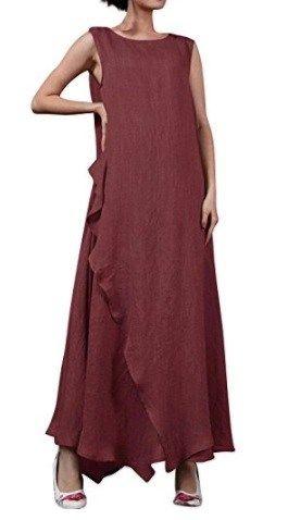 StyleDome Vestido Largo