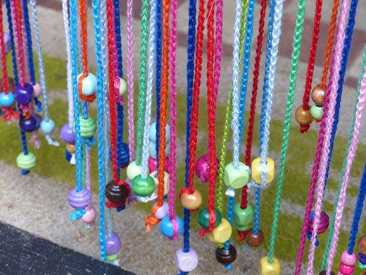Mejores 94 im genes de curtains beads en pinterest - Cortinas de abalorios ...