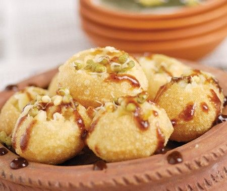 Indian Pani Puri Appetizers Recipe | from How To Cook Indian cookbook | House & Home