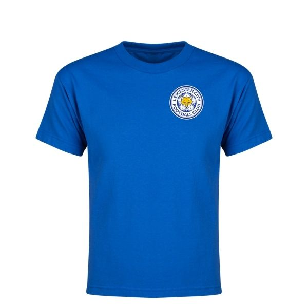 Leicester City Drinkwater Player Youth Player T-Shirt (Royal)