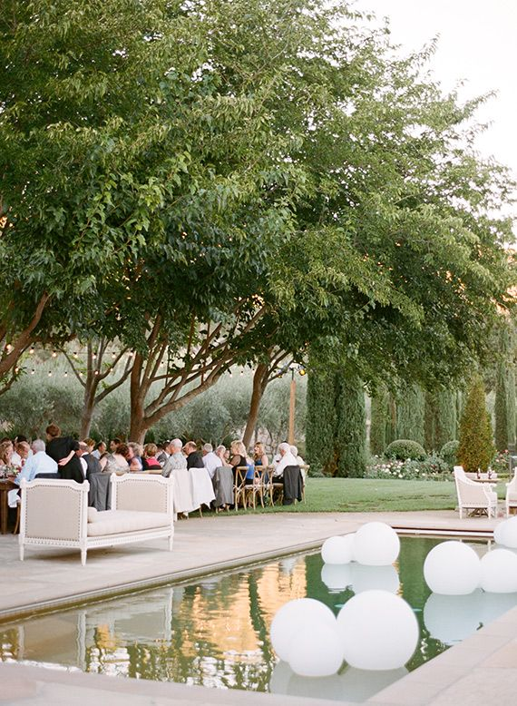 Romantic outdoor Napa wedding | Photo by Sylvie Gil | 100 Layer Cake