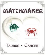 Taurus & Cancer:-Cancer may sometime fail to forget their sad past and would hide it from Taurus partner. They both believe in sharing thus they may be seen in sharing their personal stuff too. Another aspect where their thinking meets is Money. They both think that spending unnecessary money is not good thing...