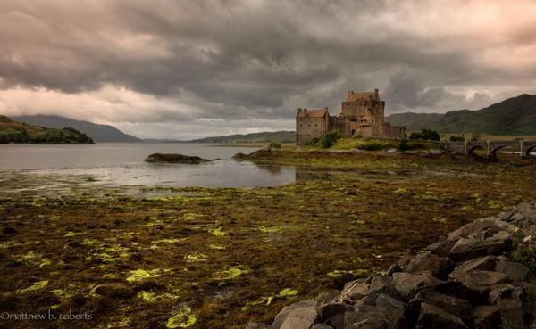 #229 POTD 07/30/14 Eileen Donna Castle on the way to Skye