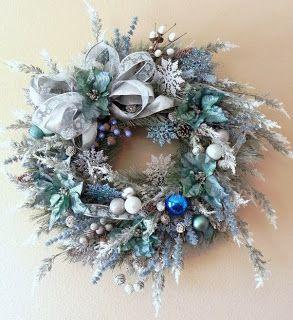 Coronas navideñas con estilo : cositasconmesh