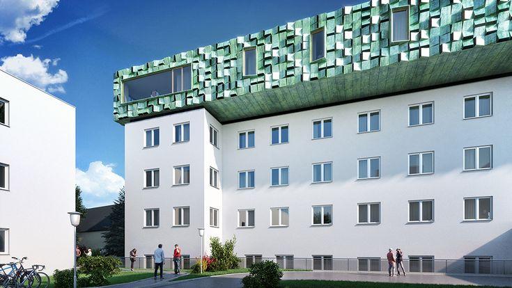 Meissls Wettbewerbsbeitrag für das Salzburger Landeskrankenhaus | MEISSL ARCHITECTS