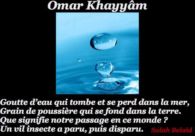 La Pensée Du Jour: Que signifie notre passage en ce monde? ( Omar Kh...