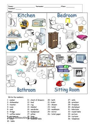 the students write the numbers. - ESL worksheets