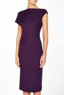 Side Gathered Tusk Dress By Vivienne Westwood Anglomania