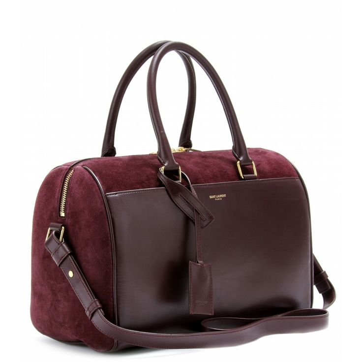 mytheresa.com - SAC BOWLING EN CUIR ET DAIM DUFFLE 6 - cabas - sacs - Luxe et Mode pour femme - Vêtements, chaussures et sacs de créateurs internationaux