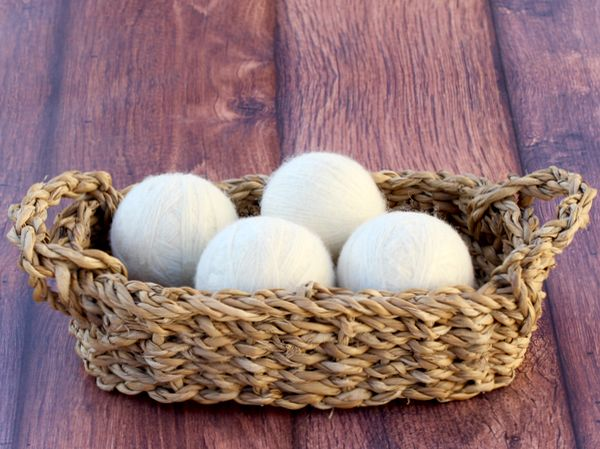 Looking for another easy Laundry Money Saving Tip? Toss those dryer sheets and make your own natural DIY Wool Dryer Balls!