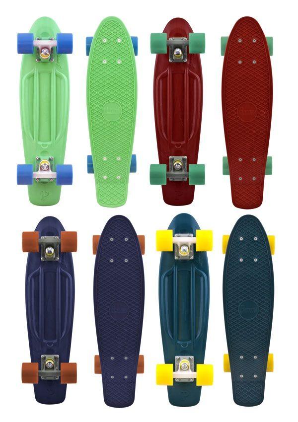 "Penny Organic 22"" The Original Plastic Skateboard"