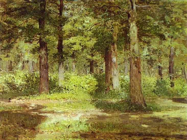 'Sunny Day', by Issac Levitan.  A great Russian Landscape painter.