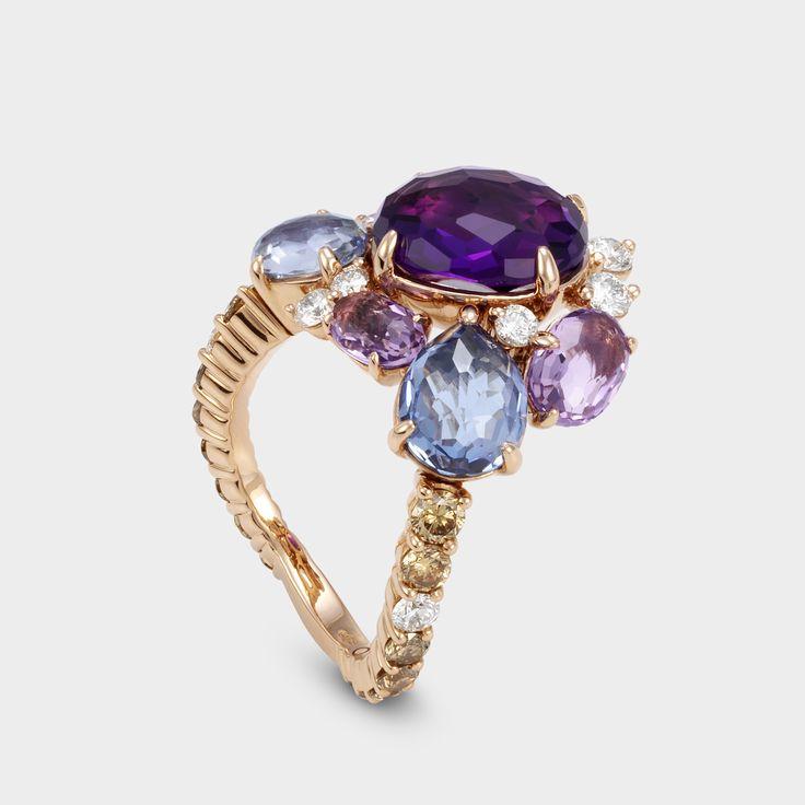 alternative engagement ring #preciousstone #pontevecchiogioielli