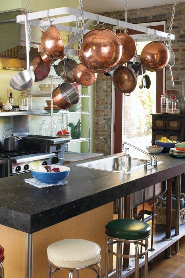 10 Awesome Industrial Kitchen Decor Ideas For