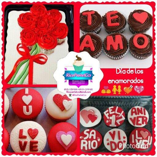 1000 ideas sobre cupcakes para aniversario en pinterest - Sorpresas para enamorados ...