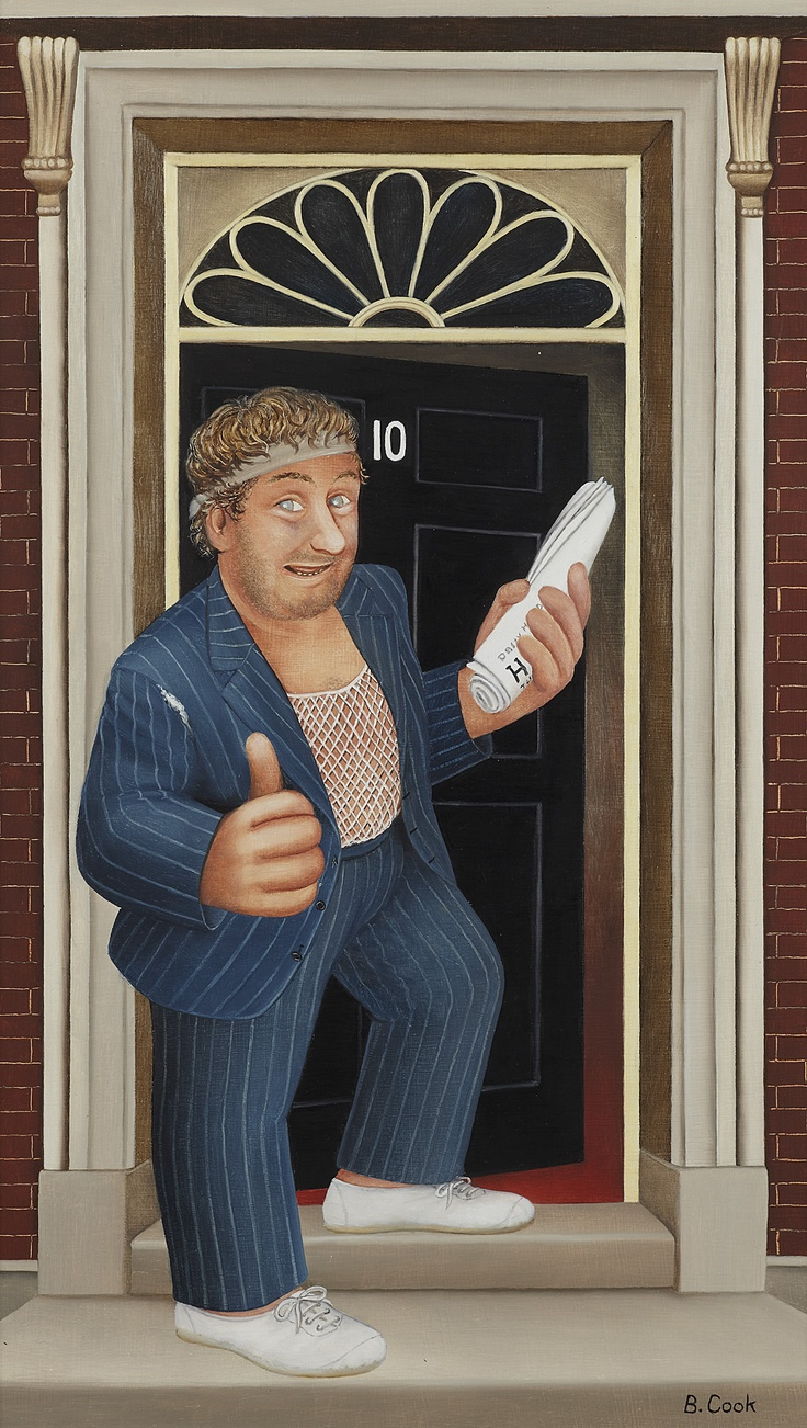 Beryl Cook   Rab C. Nesbitt Auction 17/04/2013 sold for £6000