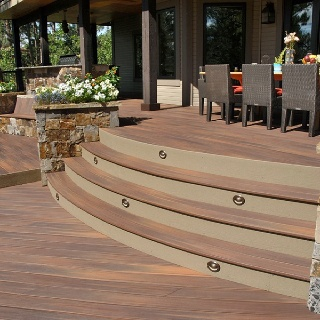 Fiberon Horizon Ipe Decking Is Beautiful Accented With