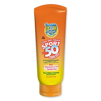 Top 15 Sunscreens - Ocean Potioin Cool Dry Touch Sport SPF 50 sunscreen - Best for Overheaters