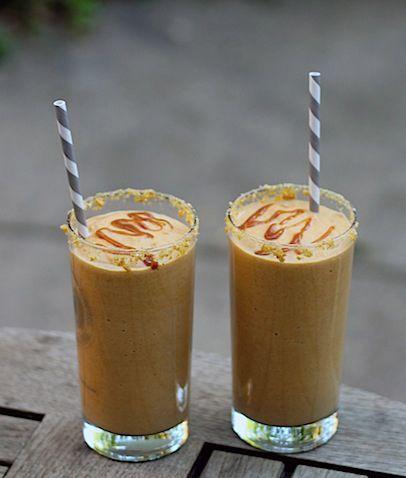 Pumpkin-Pie-Milkshake | fall food | Pinterest