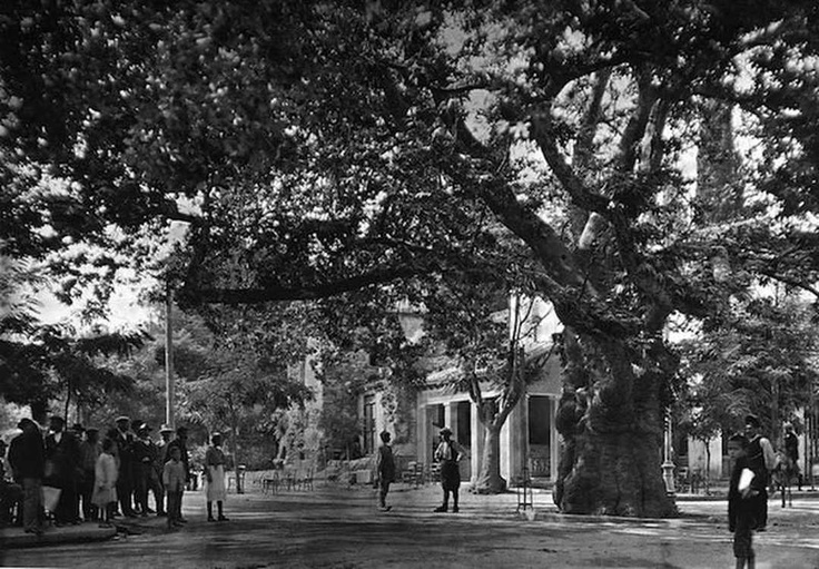 Greece old photos, Athens-Kifisia-1920