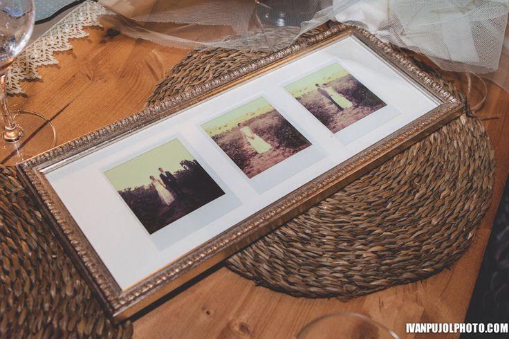 Polaroid Wedding Photography. By www.ivanpujolphoto.com