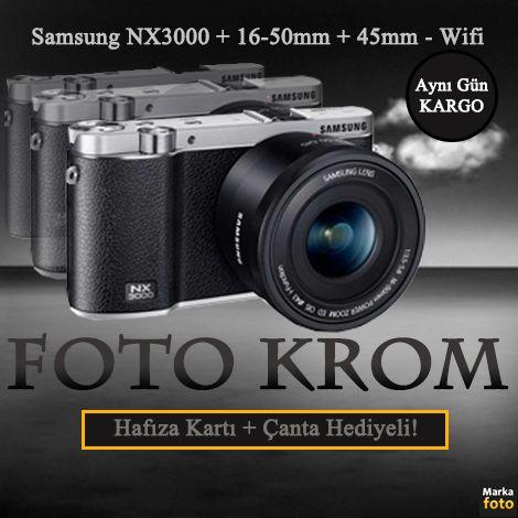 #Samsung NX3000 Aynasız Fotoğraf Makinesi Ürün : http://goo.gl/TDV6uF