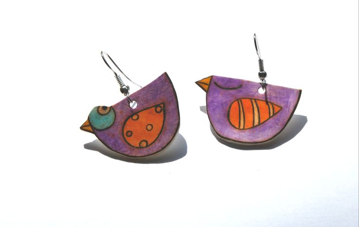 uccellini viola