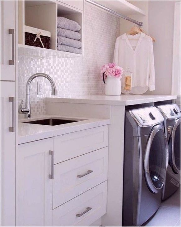 99 Fancy Laundry Room Layout Ideas For The Perfect Home Small Laundry Rooms Laundry Room Design Laundry Room Layouts