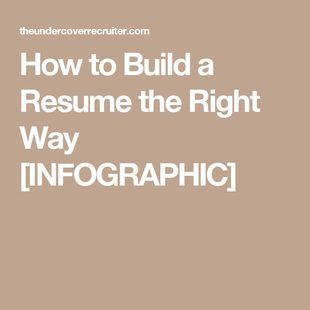 Best 25+ Build a resume ideas on Pinterest Resume writing format - resume build