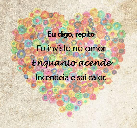 O amor. Sócio do amor by Lulu Santos