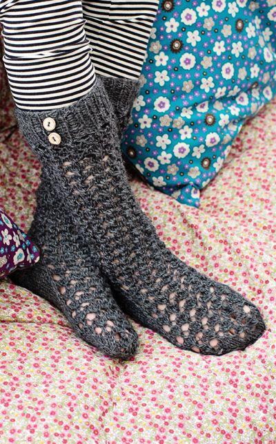Tytön neulesukat Novita Nalle   Novita knits