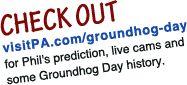 VisitPA Groundhog Day