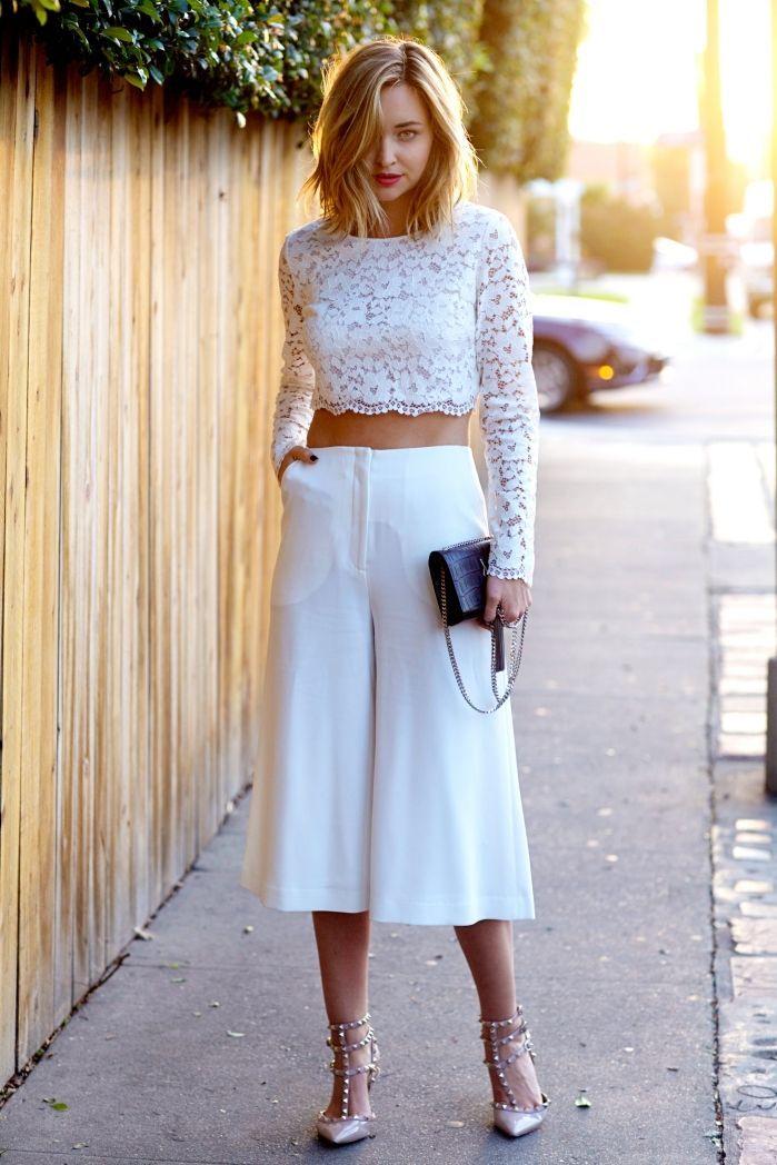 Pantalones Culottes, la tendencia que llego para quedarse. | Bossa