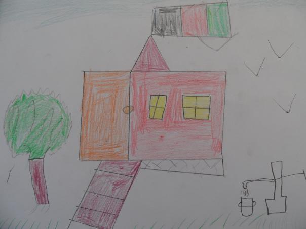 Azizrahman Abdul Rahman, tento chalan má 14 rokov, názov obrázka - Dom
