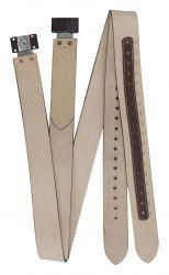 """Showman 2.5"""" Replacement Western Stirrup Leathers"""