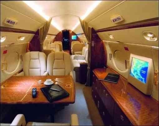 Gulfstream III owned by Tyler Perry THE TOP 10 MOST EXPENSIVE PRIVATE JETS