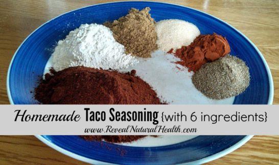 Taco seasoning ingredients FB