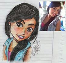 Dibujos da amigas