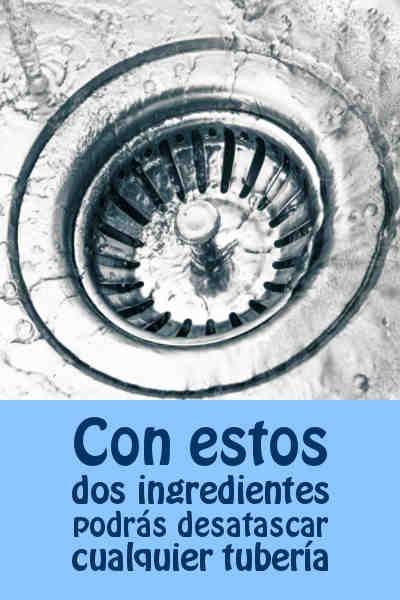 Con estos dos ingredientes podrás desatascar cualquier tubería #atasco #tubiera #desatascar #DIY