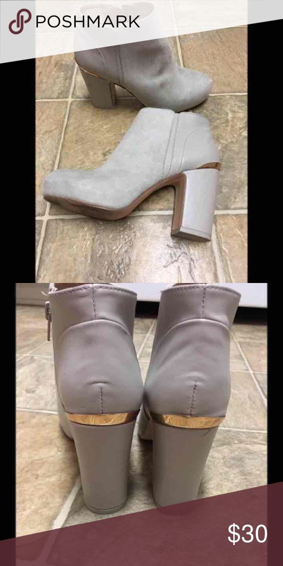 River Island Booties Worn once, so comfy and so cute!! River Island Shoes Heeled Boots