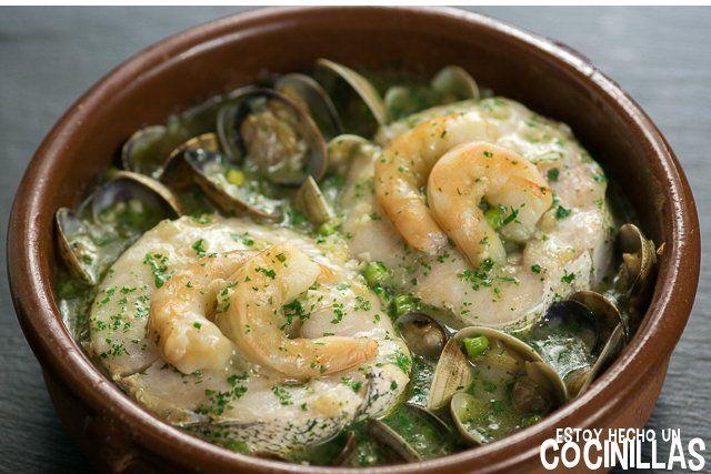 279 best cocina y ensaladas images on pinterest youtube youtubers and cooking recipes - Cocinar merluza en salsa ...
