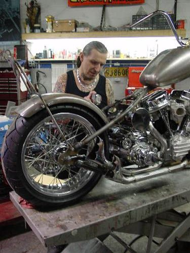 Indian Larry, ride on through eternity in peace you artistic genius